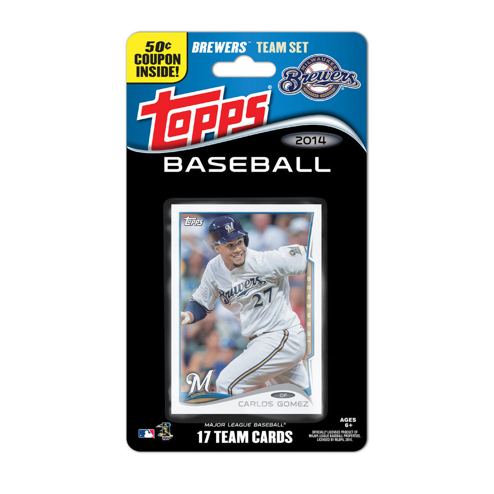 2014 Topps MLB Sets Milwaukee Brewers