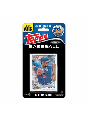 2014 Topps MLB Sets -  New York Mets - Peazz Toys