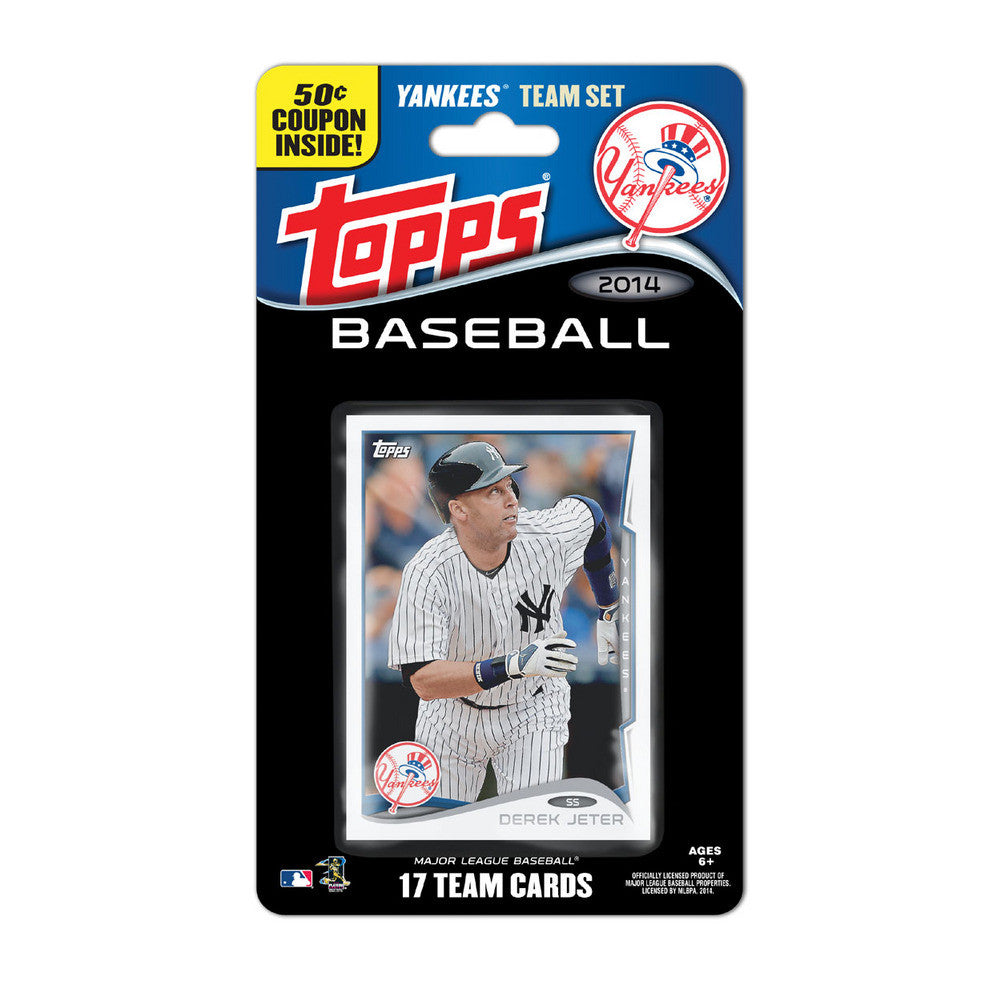 2014 Topps MLB Sets New York Yankees