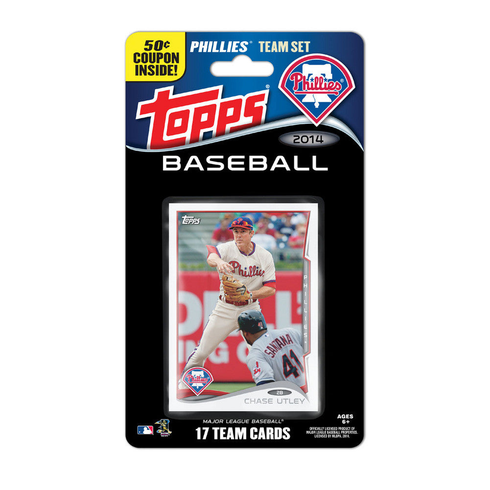 2014 Topps MLB Sets Philadelphia Phillies