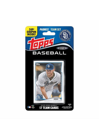 2014 Topps MLB Sets -  San Diego Padres - Peazz Toys