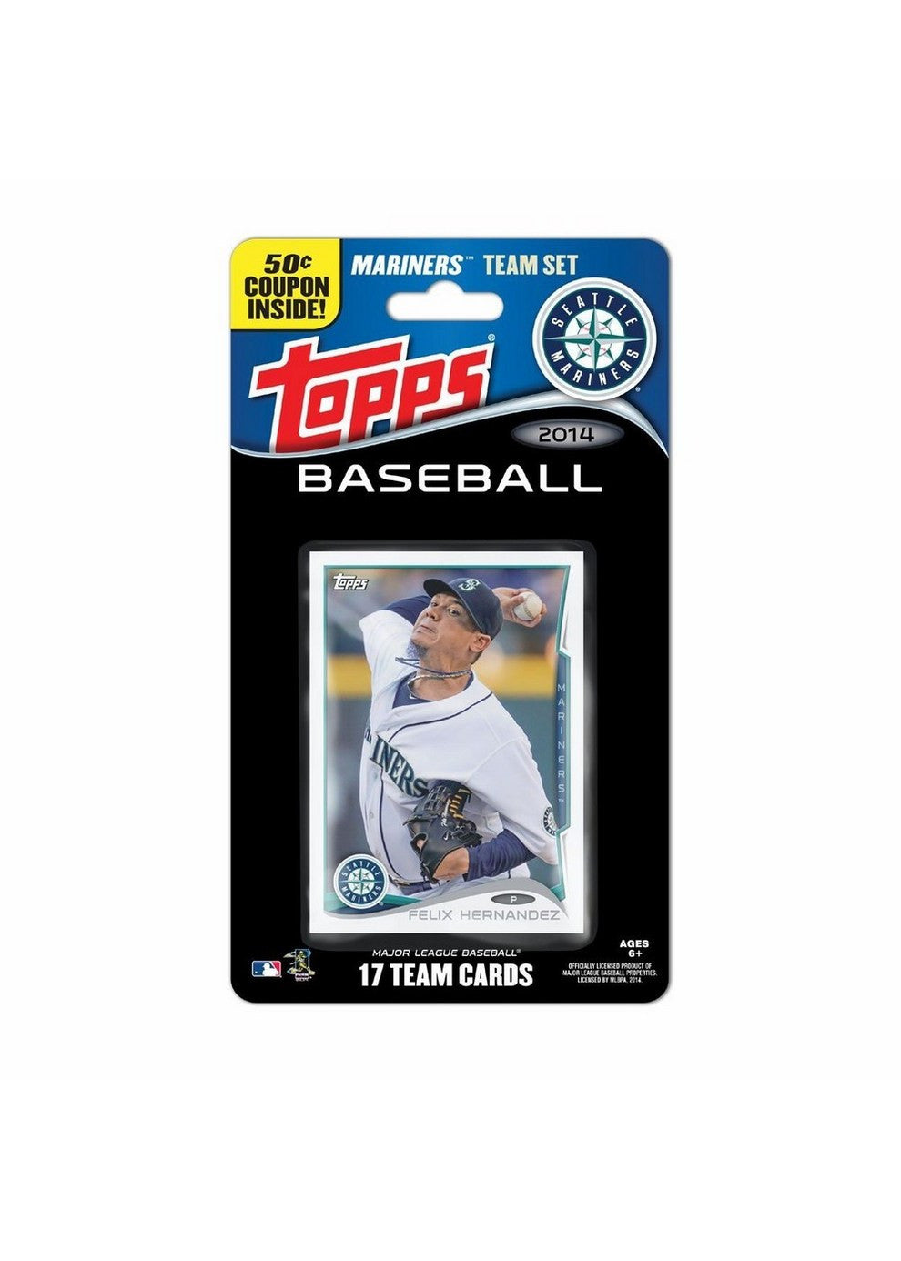 2014 Topps MLB Sets Seattle Mariners
