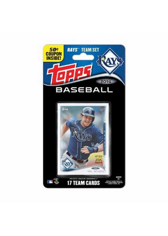 2014 Topps MLB Sets -  Tampa Bay Rays - Peazz Toys