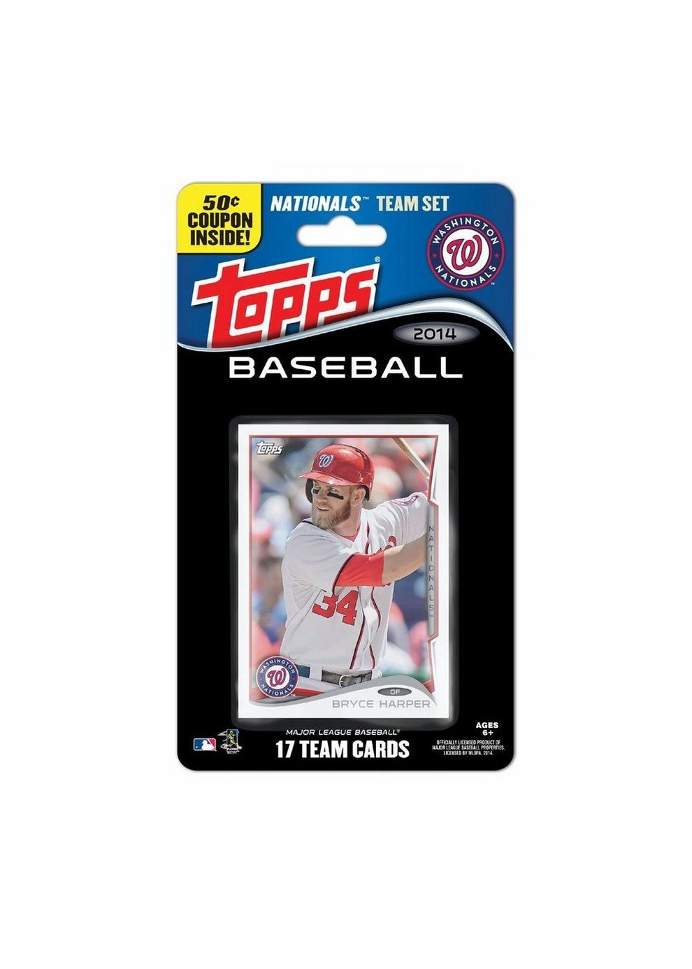 2014 Topps MLB Sets Washington Nationals