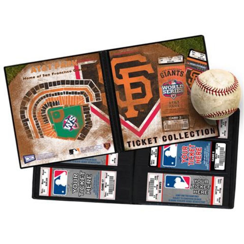 2012 World Series Ticket Album San Francisco Giants