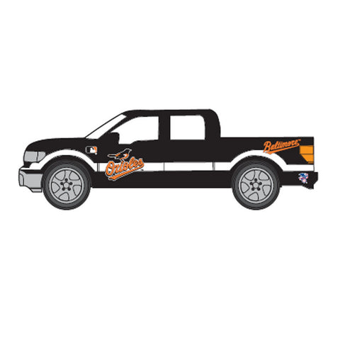 Top Dog 1:64 Scale Baltimore Orioles F150 Pick Up - Peazz Toys