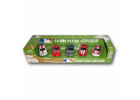 Top Dog 5 Piece Diecast Gift Set - Boston Red Sox - Peazz Toys