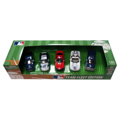 Top Dog 5 Piece Diecast Gift Set - Los Angeles Dodgers - Peazz Toys