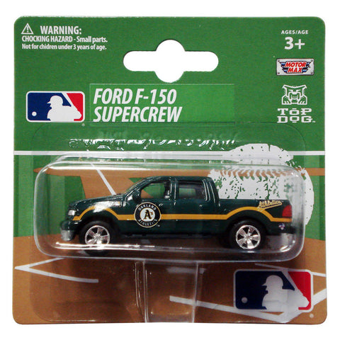 Top Dog 1:64 Scale Oakland Athletics F150 Pick Up - Peazz Toys