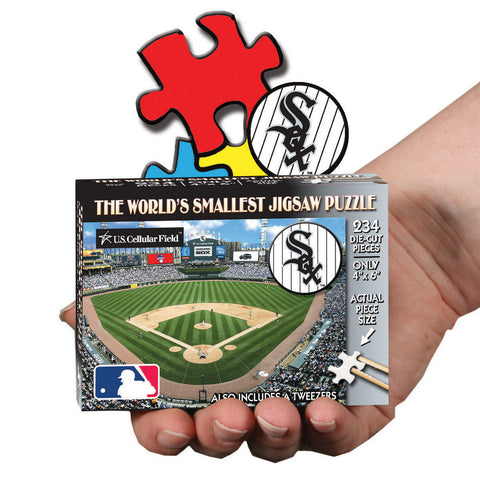 MLB World's Smallest Puzzle - White Sox - Peazz Toys