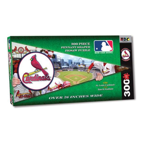 MLB Pennant Shaped Puzzle - Cardinals - Peazz Toys
