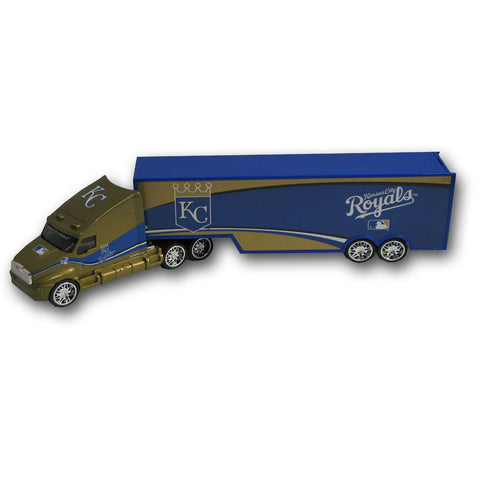 Top Dog 1:64 Tractor Trailer Transport - Kansas City Royals - Peazz Toys