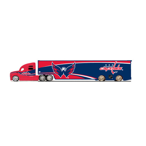 Top Dog Tractor Trailer Transport 1:64 Scale Diecast - Washington Capitals - Peazz Toys