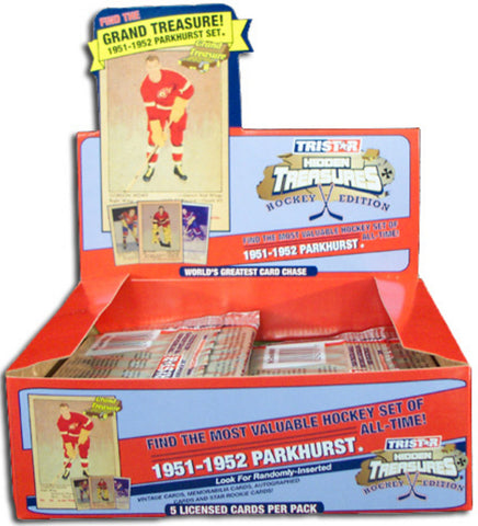 2006 Tristar Hidden Treasures Greatest Card Chase NHL (28-Packs) - Peazz Toys