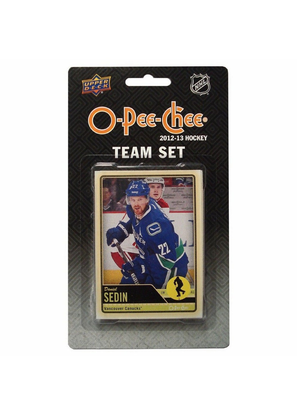 201213 Upper Deck O Pee Chee Team Card Set 17 Cards Vancouver Canucks
