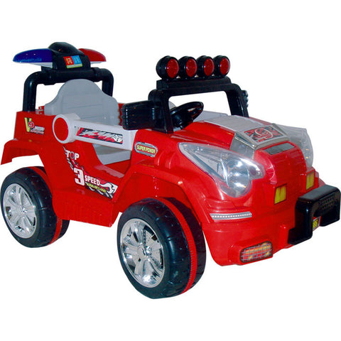 80-20985 Lil' Rider Land King Battery Operated Jeep - Peazz Toys