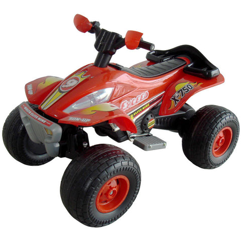 80-7038 Lil' Rider X-750 Exceed Speed Battery Operated Atv - Peazz Toys