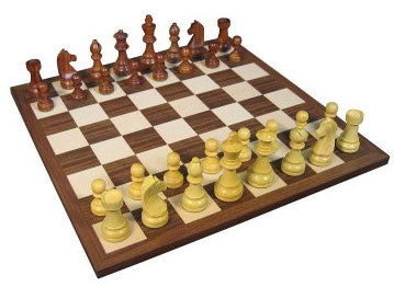 German Sheesham Chess Set - Peazz Toys
