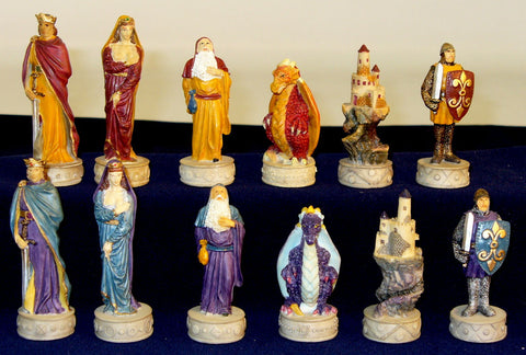 Royal Chess Middle Ages Chessmen (R67627) - Peazz Toys