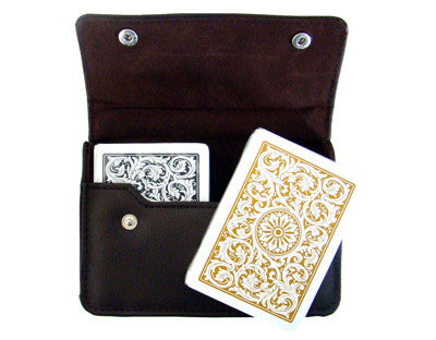 Brybelly Gcop-101.912 1546 Bl. Gld. Poker Jumbo Leather Case