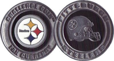 Brybelly NFL-2901 Challenge Coin Card Guard - Pittsburgh Steelers - Peazz Toys