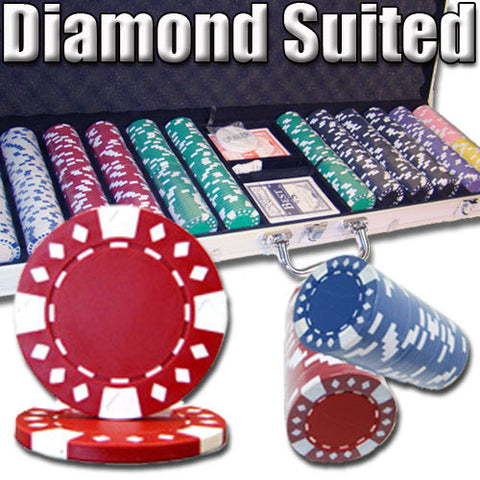 Brybelly PSC-1804CAL600 600 Ct - Custom Breakout - Diamond Suited 12.5 G - Aluminum - Peazz Toys
