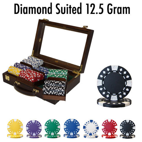 Brybelly PSC-1804CW300 300 Ct - Custom Breakout - Diamond Suited 12.5 G - Walnut - Peazz Toys