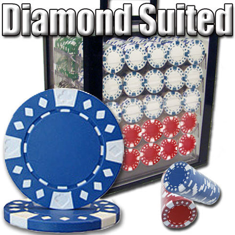 Brybelly PSC-1806CACK 1,000 Ct - Custom Breakout - Diamond Suited 12.5G - Acrylic - Peazz Toys