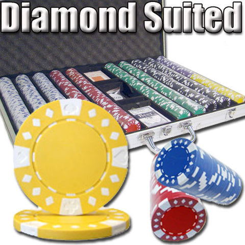Brybelly PSC-1906C 1,000 Ct - Custom Breakout - Diamond Suited 12.5G - Aluminum - Peazz Toys