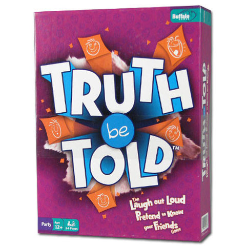 Buffalo Games TBUF-01 Truth Be Told Game - Peazz Toys