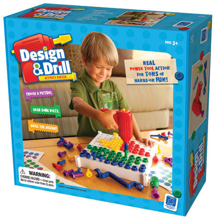 Educational Insights TEDU-01 Design & Drill Activity Center - Peazz Toys