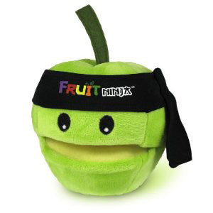 Fruit Ninja TFNJ-02 5'' Plush Fruit Ninja with sound - Peazz Toys