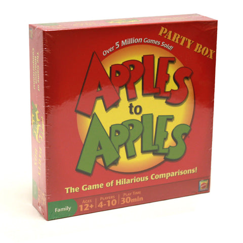 Mattel TMAT-01 Apples to Apples Party Box - The Game of Hilarious Compariso - Peazz Toys