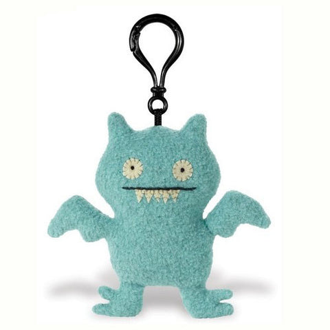 Pretty Ugly TPUG-16 UglyDolls Ice-Bat Clip on Keychain - Peazz Toys