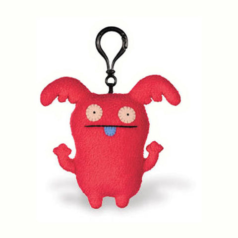 Pretty Ugly TPUG-22 UglyDoll Ninja Batty Shogun Clip on Keychain - Peazz Toys