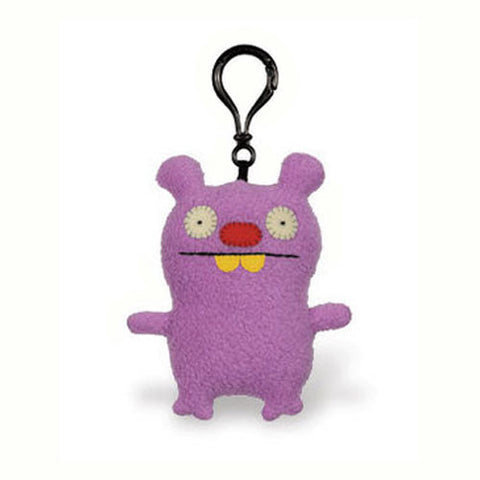 Pretty Ugly TPUG-23 UglyDolls Uppy Clip on Keychain - Peazz Toys