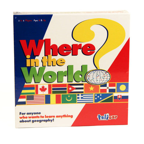 Talicor TTAL-04 Where in the World - Peazz Toys
