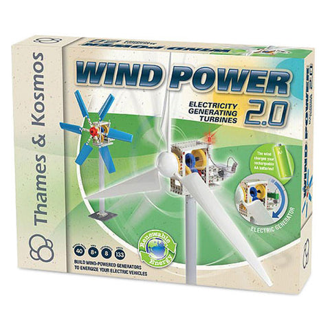 Thames & Kosmos TTKM-02 Wind Power 2.0 Kit - Peazz Toys