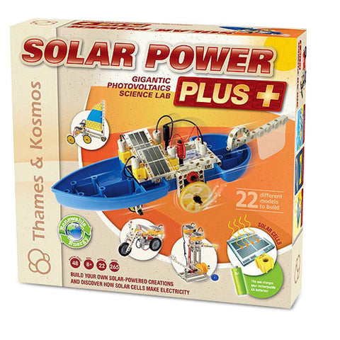 Thames & Kosmos TTKM-03 Solar Power Photovoltaic Energized Vehicles - Peazz Toys
