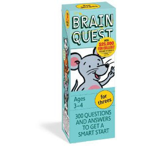 Workman Publishing TWRP-02 Brain Quest for Kindergarten - Peazz Toys