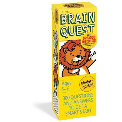 Workman Publishing TWRP-03 Brain Quest for Grade 1 - Peazz Toys