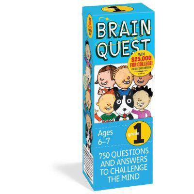 Workman Publishing TWRP-04 Brain Quest for Grade 2 - Peazz Toys