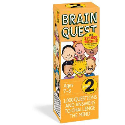 Workman Publishing TWRP-05 Brain Quest for Grade 3 - Peazz Toys