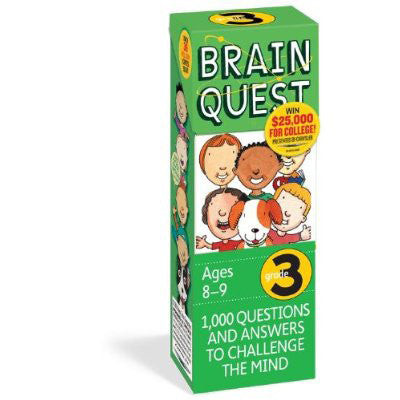 Workman Publishing TWRP-06 Brain Quest for Grade 4 - Peazz Toys