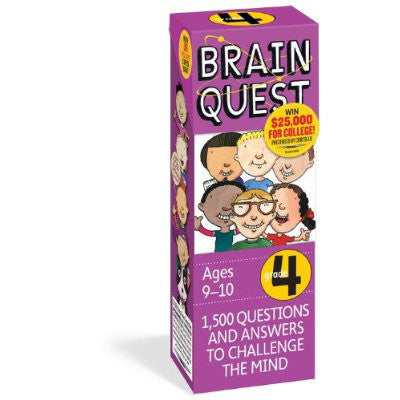 Workman Publishing TWRP-07 Brain Quest for Preschool - Peazz Toys