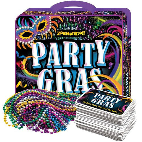 Zobmondo TZOB-09 Zobmondo!! Party Gras-The Game that's the life of the Party - Peazz Toys