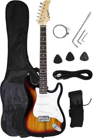 Crescent Direct EG-SB 39 Inch Sunburst Premium Electric Guitar - Peazz Toys