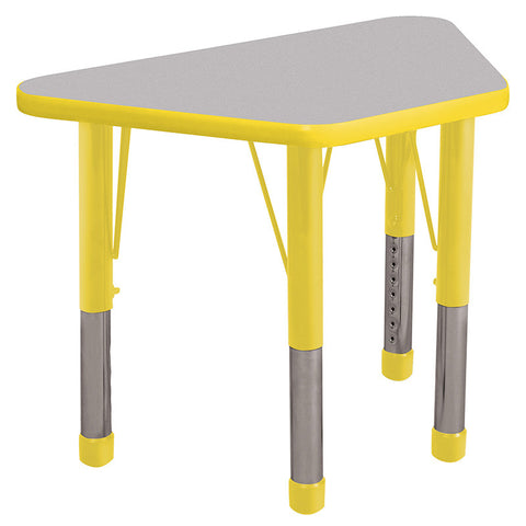 "ECR4Kids ELR-14118-GYE-C 18x30"" Trap Table Grey/Yellow-Chunky - Peazz Toys"