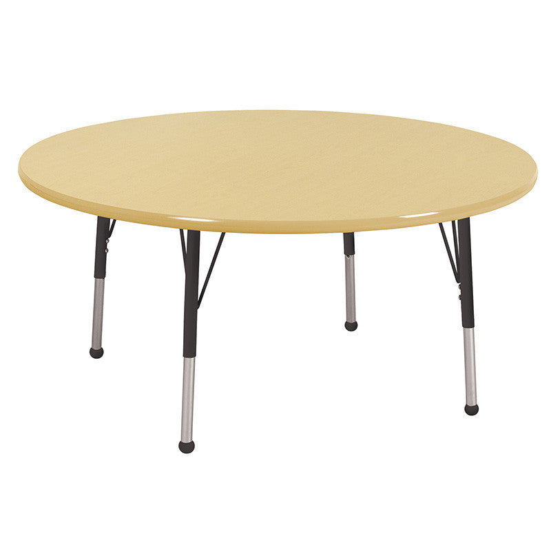 ECR4Kids ELR-14124-MMBK-SB 60 Round Table MMBK-Standard Ball