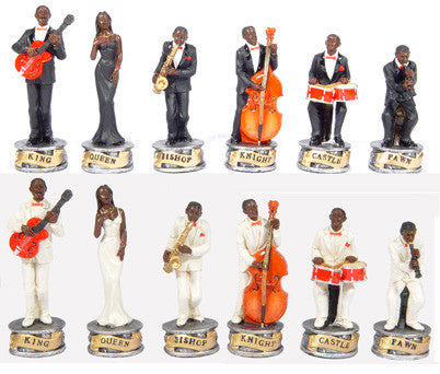 Fame 7064 Jazz Band Chess Pieces